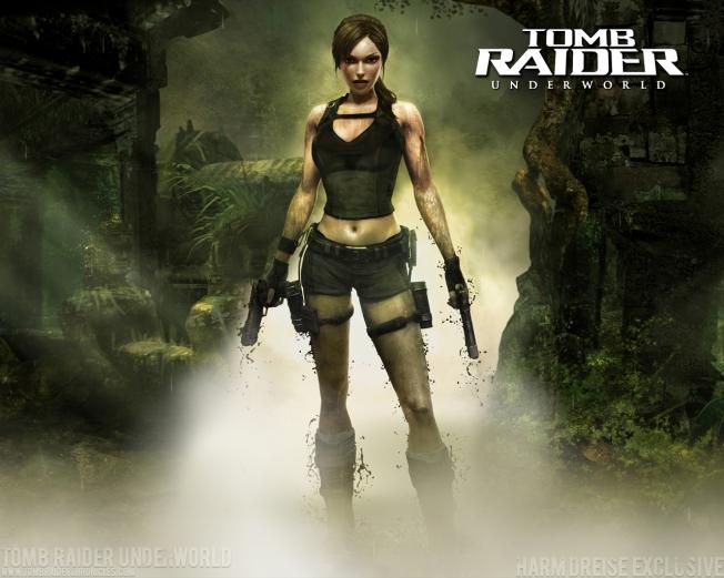 Fondos-de-pantalla-Tomb-Raider-Underworld-Lara-Croft-wallpapers